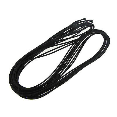 16' (5m) 22AWG Stranded Hook-Up Wire Copper Tinned UL1007 Jacket Color - Black