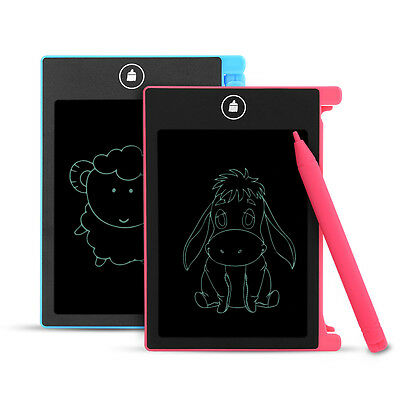 """8.5""""/4.5""""LCD Writing Tablet Pad for Boogie Board Style eWriter Boards Stylus OB"""