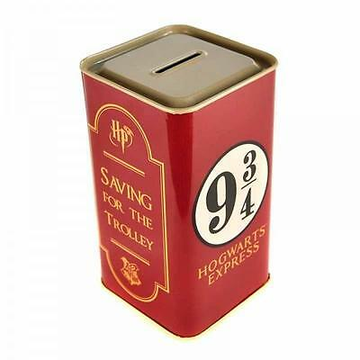 Harry Potter Platform 9 3/4 Tall Tin Money Box
