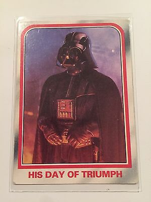 1980 Scanlens Star Wars The Empire Strikes Back Card #92 His Day Of Triumph