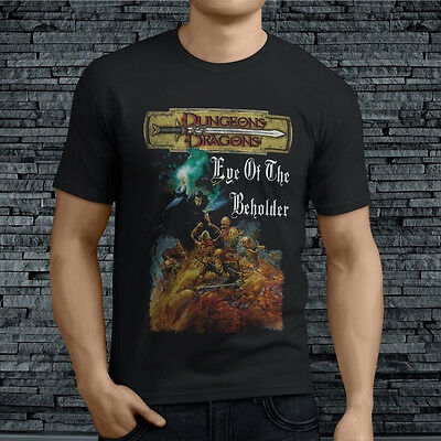 0417aab9 Dungeons and Dragons Tee Tshirt Men's T-Shirt Black Adult Size S to XL