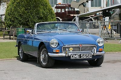 MG B Convertible Available For Self Drive Hire - Greater London