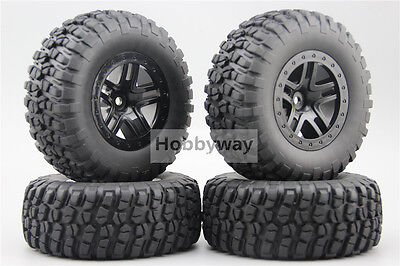 4pcs RC 1/10 Short Course Tire Tyre Set  SC Tire For TRAXXAS SlASH 29001+29506