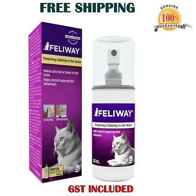 Feliway Spray Pheromone Natural Stress Relief Calming for Cats - 60 ml