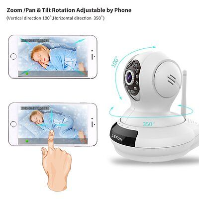 Baby Monitor Wireless Camera WiFi Video Record Night Vision Remote Motion App