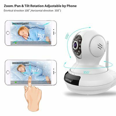 Wireless Camera Baby Monitor WiFi Video Record Night Vision Remote Motion Audio