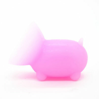 1pcs Lovely Mini Portable Pig Silicone Suction Mobile Phone Stand Holders Pink01