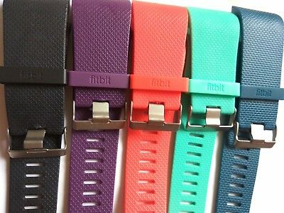 Fitbit Surge Replacement Strap +  Metal Buckle + Plastic Ring large