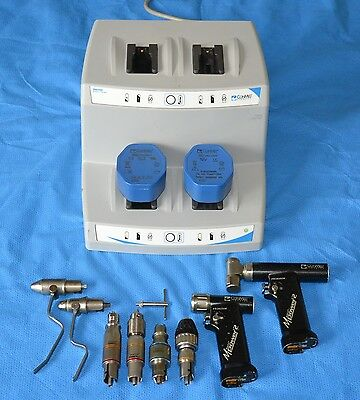 Hall Conmed Linvatec MPower 2 Drill Set # 118128129130-17
