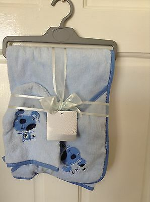 Babies early days  new hooded towel and mitt set