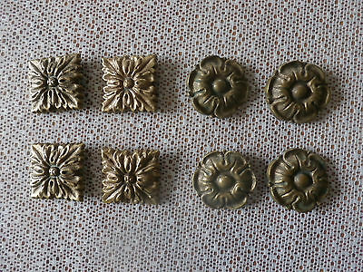 Vintage French Brass Furniture Embellishments/curtain accessories.