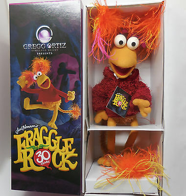 Fraggle Rock 30Th Anniversary Red Jim Henson Tv Movie Muppet Figure Sculpture