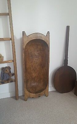 Lovely antique dough bowl  large fruit bowl /rustic primitives