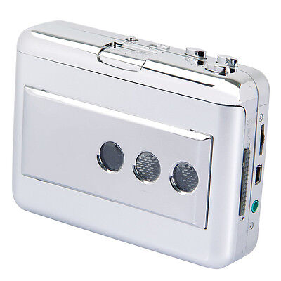 EzCAP Cassette to MP3 USB Tape to MP3 Player Music Player with Software W2B1