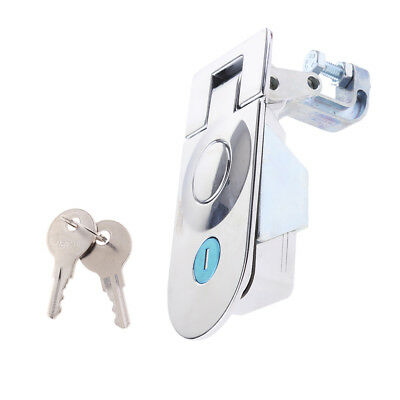 Zinc Alloy Sealed Large Lever Hand Operated Compression Latch Lock Chrome