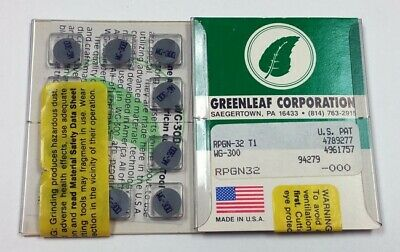 Rpgn-32 T1 Wg-300 Greenleaf 43-Rpgn32-010 (Pack Of 10) Rpgn-090300