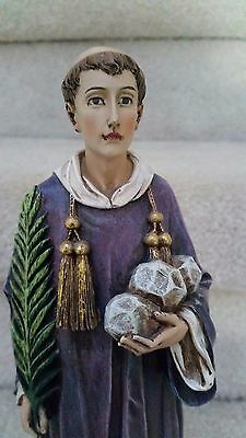 Religious Statue Figurine Of St. Stephen By Roman,Inc .