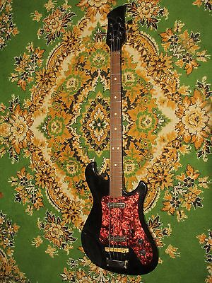 USSR BASS KAVKAZ SOVIET BASS GUITAR Best condition URAL AELITA