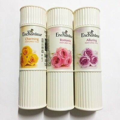 Enchanteur Romantic Alluring Charming Perfumed Talc Body Women Powder 100g x 3