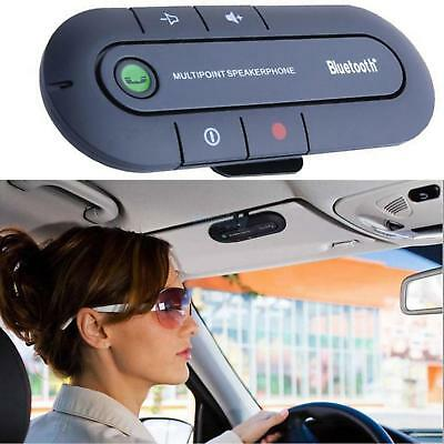 Universal Bluetooth Car Kit Wireless Handsfree Speaker Phone Visor For Phone GB