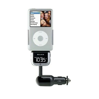 *no Box* Belkin Tunebase Fm Transmitter Clearscan Fr Iphone 4 4S Ipod New F8Z176