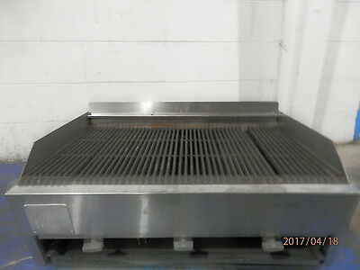 "Gas 32"" Char Broiler Countertop Char Grill"