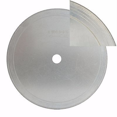 "7"" inch Super-Thin Rim 0.65mm Diamond Lapidary Saw Cutting Disc Jewelry Tools"
