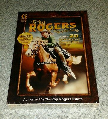 Roy Rogers: King of the Cowboys (DVD, 2010, 6-Disc Set) RARE oop