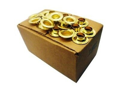 Brass Eyelets Size 5 - 144 Box. BOXED BRASS EYELETS - 144. Best Price