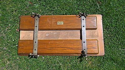 Vintage Antique Wooden Austin Reed Tie/ Trouser  Press Stretcher Display Prop