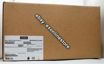 00AL536 - System x 900W High Efficency Platinum AC Power Supply Lenovo Brand NEW