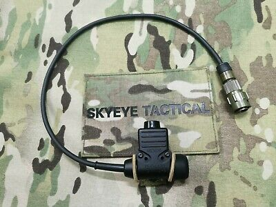 Secure Tacitc 94 (ST94) PTT for Racal / Clansman 7 Pin Handheld Radio. PRM / PRC
