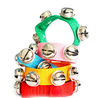 1Pcs Wrist Ankle Bells Jingle Bell Strap Bracelet Kids Early Music Education