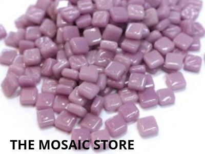 Lilac 8mm Glass Tiles - Micro Small Mosaic Art Craft Tiles Supplies