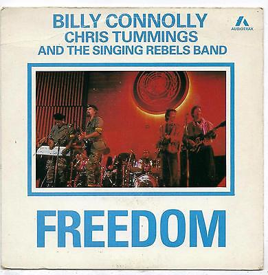 """Billy Connolly & Chris Tummings - Freedom - 7"""" Single"""