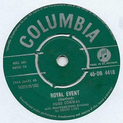 """Russ Conway - Royal Event - 7"""" Single"""