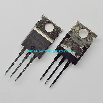 10pcs IRF740 TO-220 400V 10A Transistors New Original