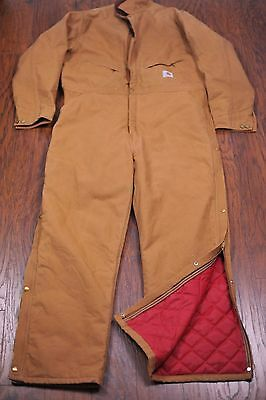 Carhartt XO1 Arctic Quilted Insulated Coveralls Men's 50 Tall