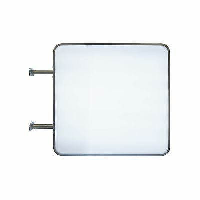 LightBox 55x55 Square LED Projecting double sided Blank Illuminated Sign