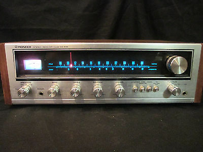 1980 Pioneer Sx-434 Vintage Stereo Receiver Amplifier Working Condition