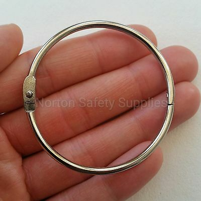 Large Hinged Split Ring / Key Ring / Jailors Fob 60mm * MULTI-BUY DISCOUNT *