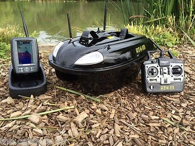 Ex-Display Atom Bait Boat + Toslon TF500 Feature Finder