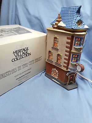 Dept 56 City Clockworks Christmas in the City Series   #5531-0