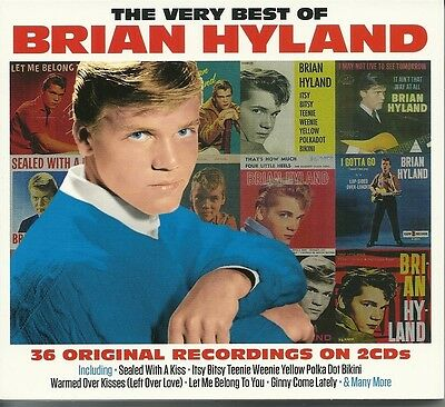 The Very Best Of Brian Hyland - 2 Cd Box Set - Sealed With A Kiss & More