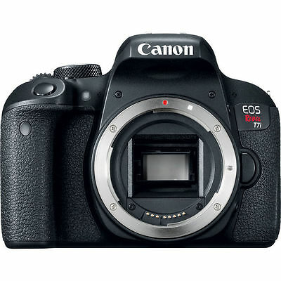Canon EOS Rebel T7i Digital SLR Camera - Black (Body Only) NEW!