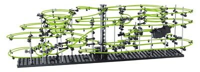 Space-Rail Level-5 Marble Roller Coaster Glow In The Dark, Magnificent Never