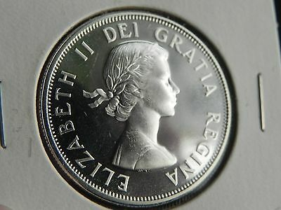 **1964** Canada  50 Cents, Nice  Uncirculated *silver* Coin From Set