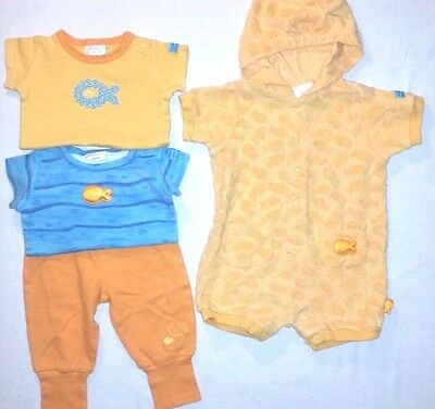 Carter's Lot of Fish Themed Outfits Boy Girl Size 3-6 Months