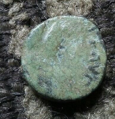 Late Roman AE4....Bust/Victory Holding Wreath