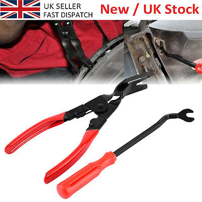 Car Door Card Panel Trim Clip Removal Pliers & Upholstery Remover Tool Uk Seller